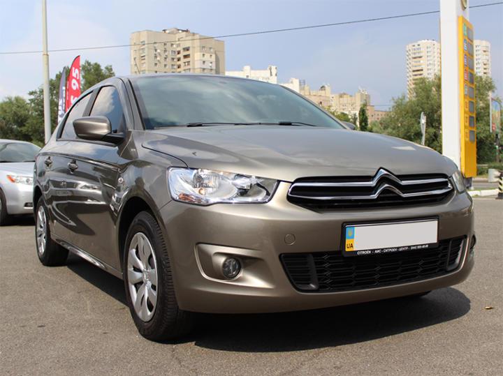 прокат авто Citroen C-Elysee Киев