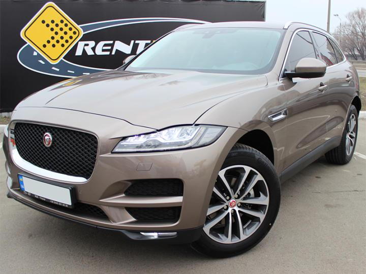 прокат Jaguar F-Pace Киев