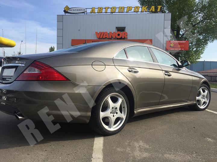 прокат Mercedes-Benz CLS-class