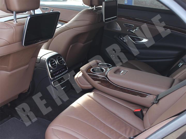 прокат Mercedes-Benz S500 W222