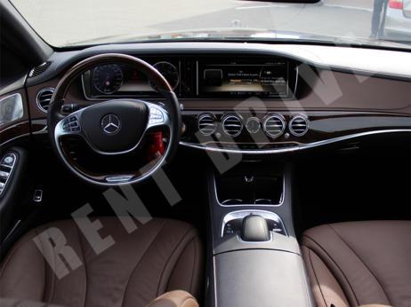 арендовать Mercedes S500 222