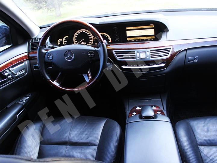 arenda Mercedes S500 W221