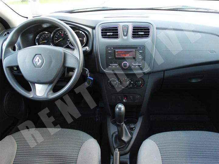 Renault Logan прокат