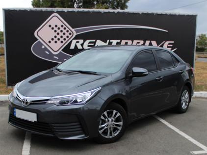 Toyota Corolla rent 2018